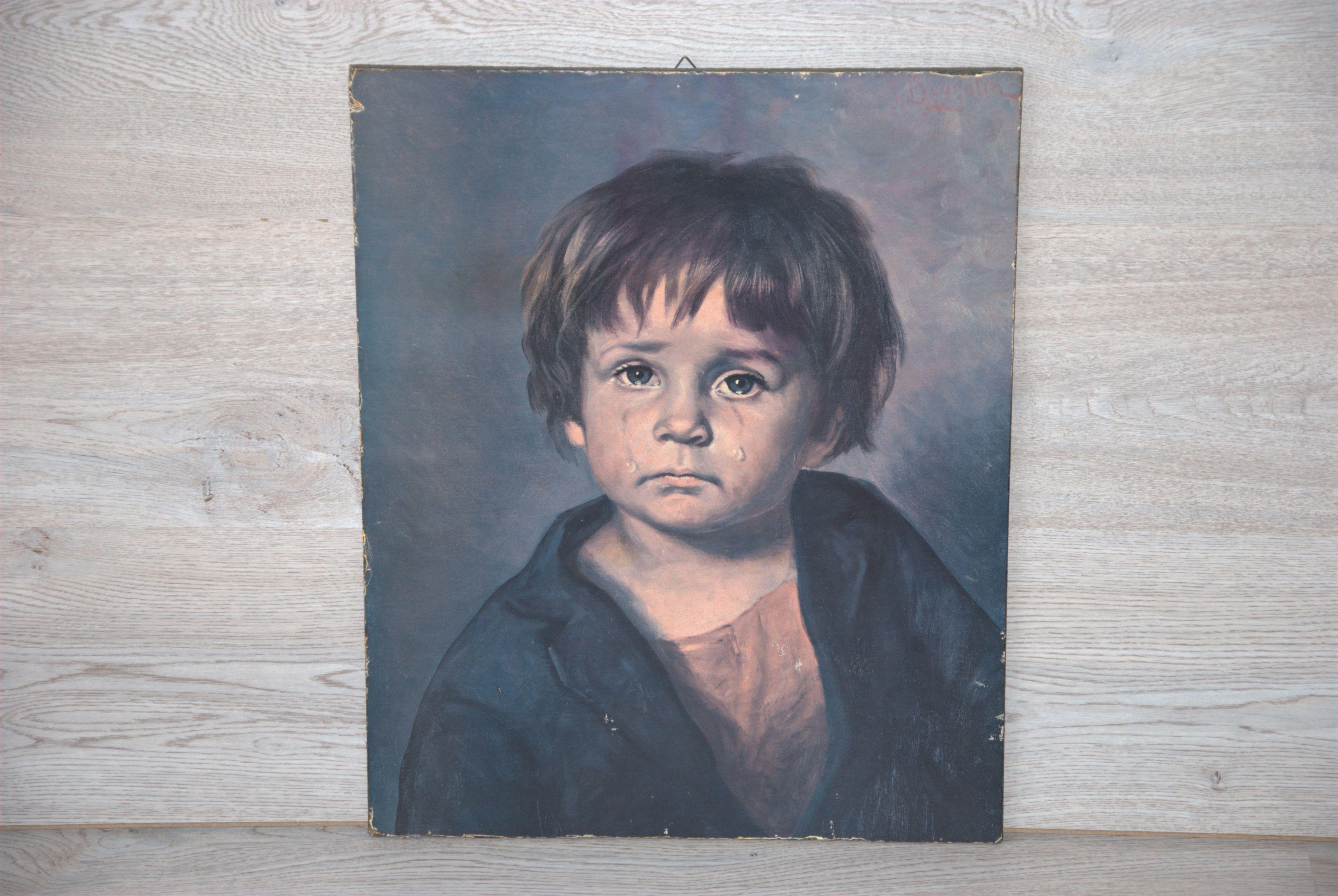 Print jongen met tranen - Bragolin_05